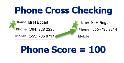 Phone Cross Checking blank